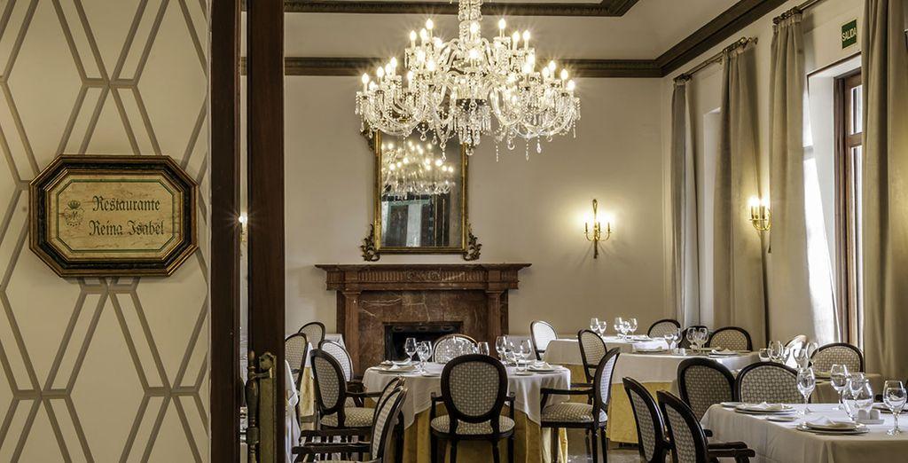 Prueba las delicias en el ambiente más elegante