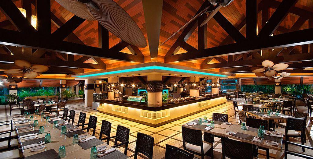 Saborea las delicias de este excelente resort