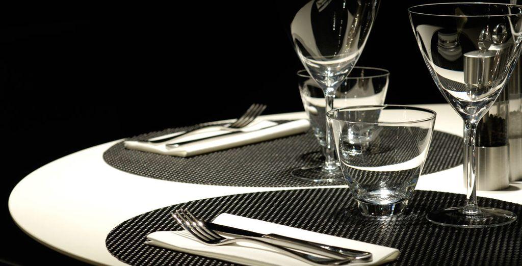 El restaurante está abierto de martes a sábados para la cena