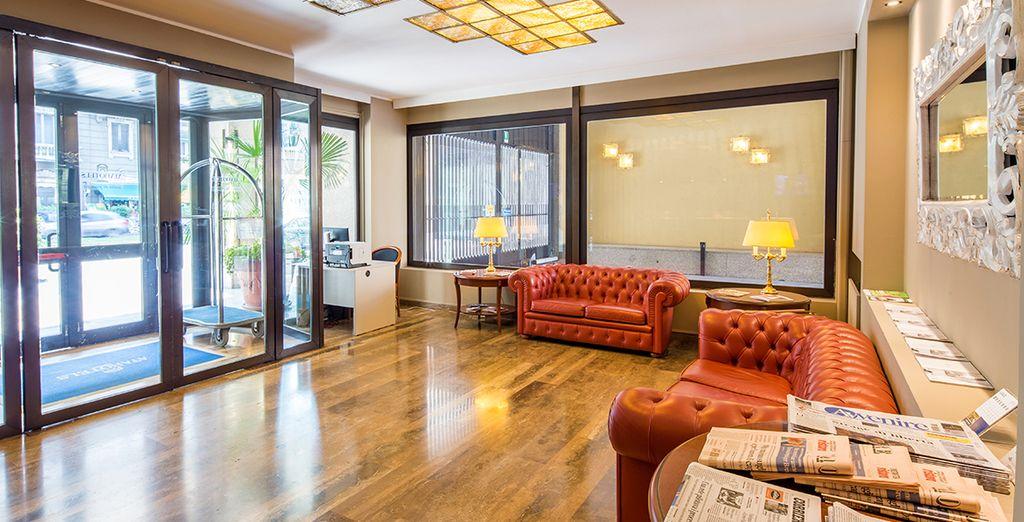 Un moderno hotel de 4 *, recientemente renovado