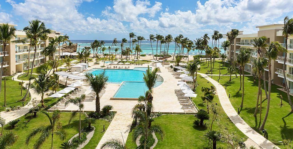 Un increíble resort frente al mar
