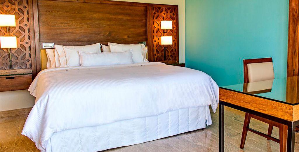 Descansarás en tu gran habitación Traditional