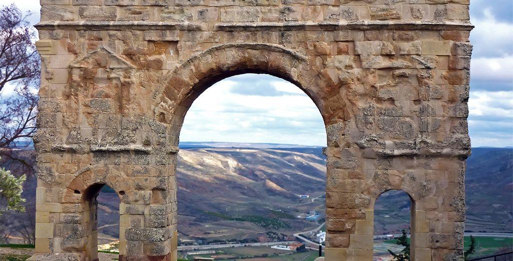 Podrás visitar la historia romana de Medinacelli