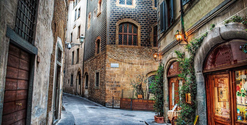 Perderse en las calles de la ciudad fiorentina es una experiencia inolvidable
