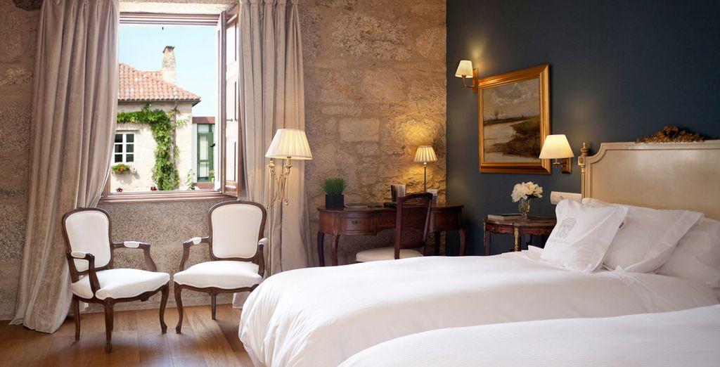 Puedes alojarte en una habitación Doble Classic