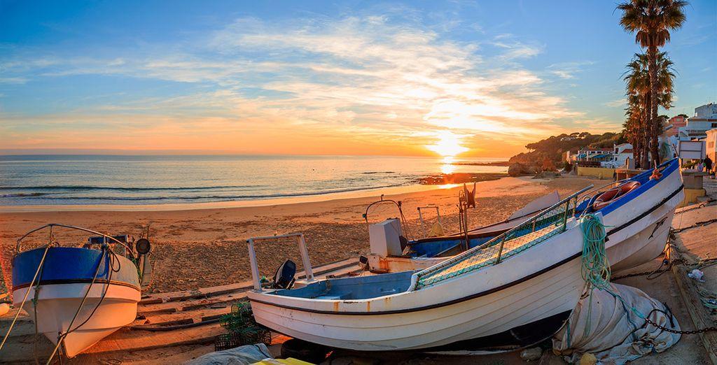 Escapa a un universo de tranquilidad, escapa a Albufeira, en Algarve
