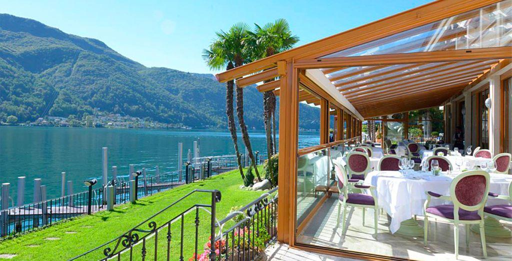 Bienvenido a este hotel ubicado en la Suiza italiana