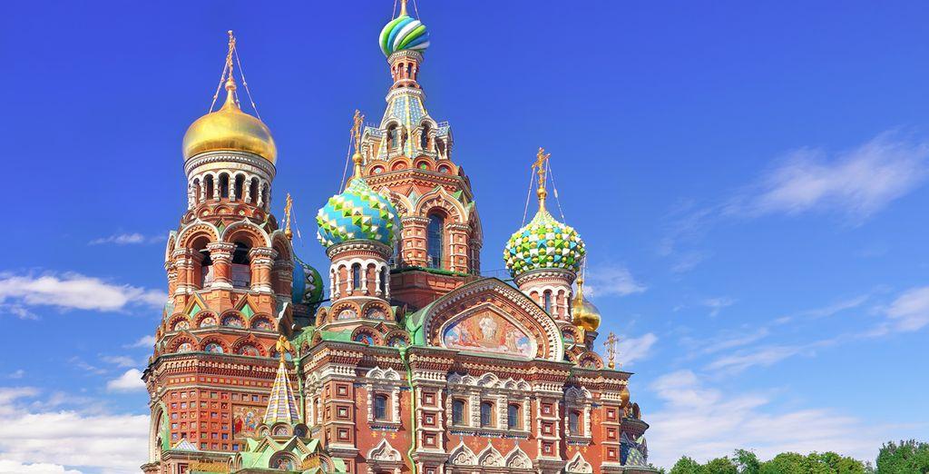 Bienvenido a San Petersburgo
