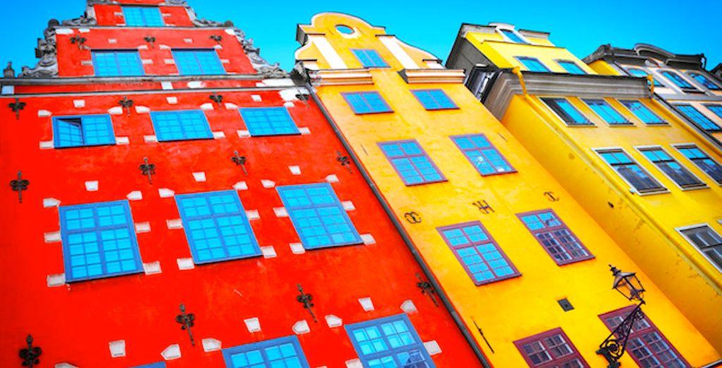 Una ciudad llena de alegría y color
