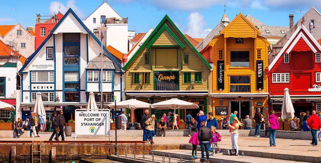 Comenzarás el itinerario en la localidad de Stavanger