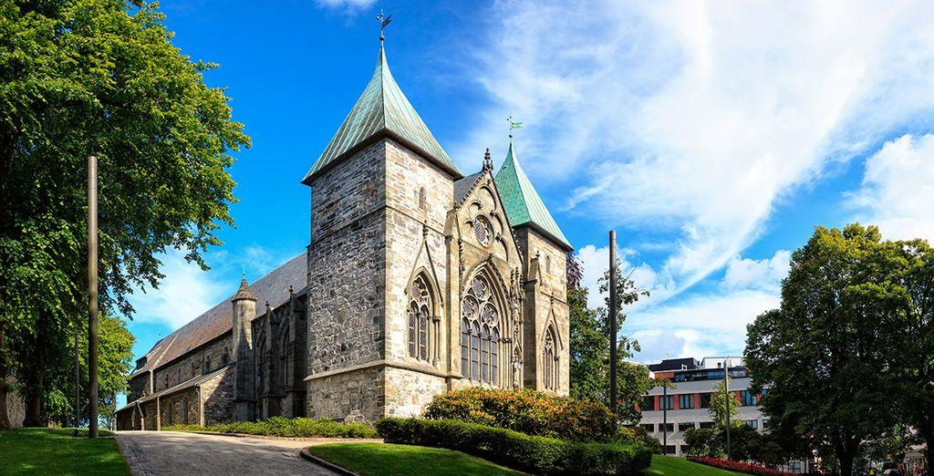 Domkirke, una de las iglesias más antiguas del país