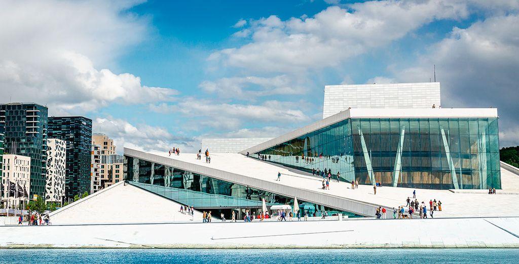 Opera House, en Oslo, de Snohetta Architechts
