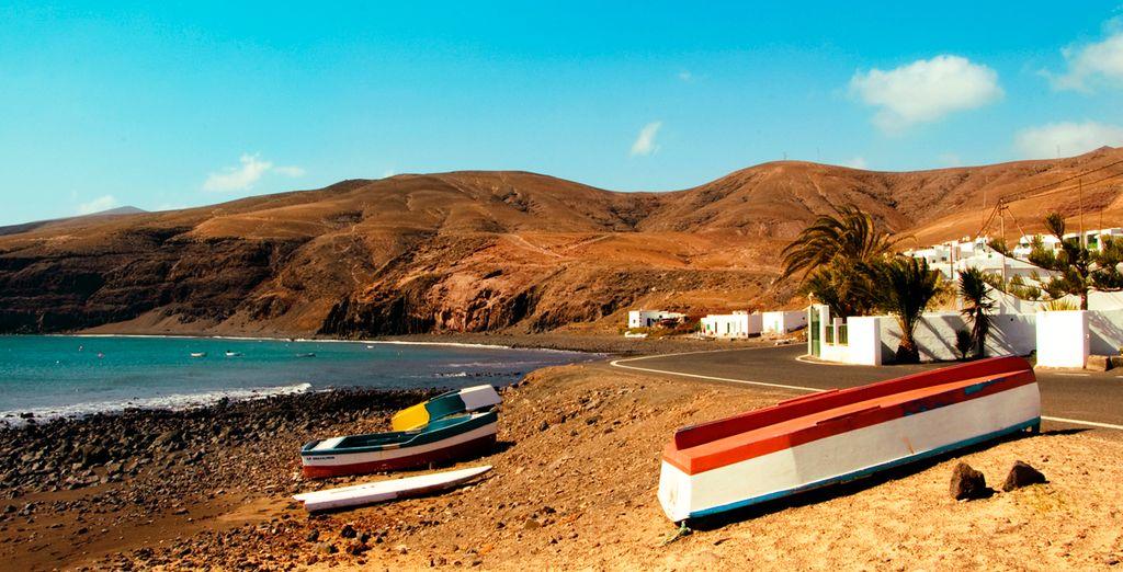 Descubre la bella isla de Lanzarote y sus paisajes