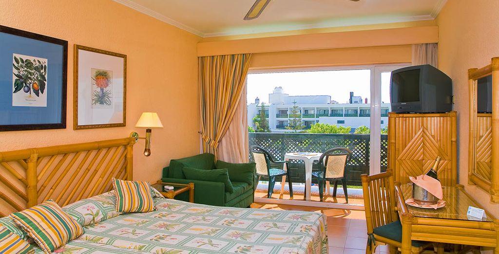 Amplias habitaciones para tus vacaciones