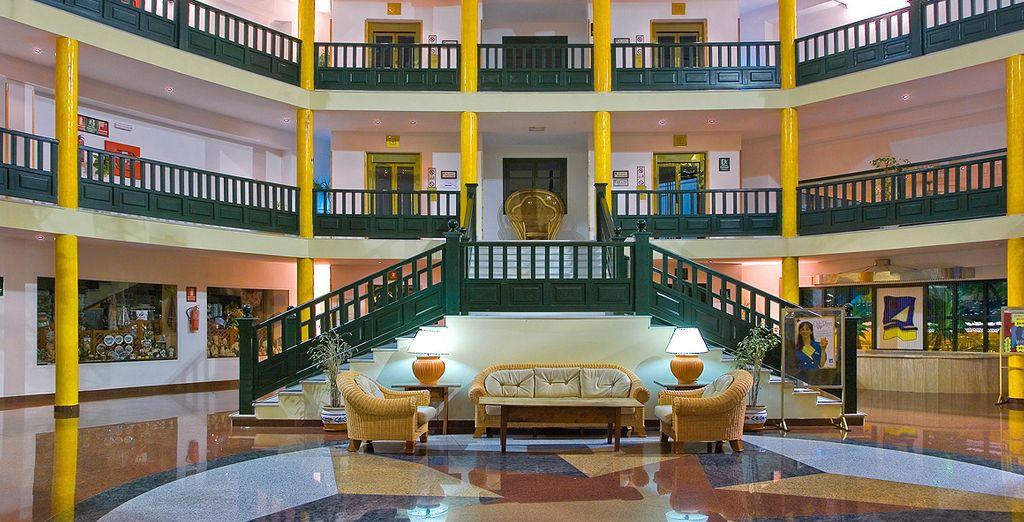Bienvenido al Diverhotel Lanzarote 4*