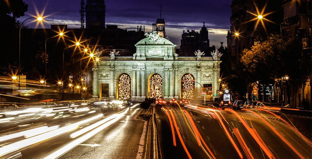 Madrid, una ciudad vibrante, llena de energía