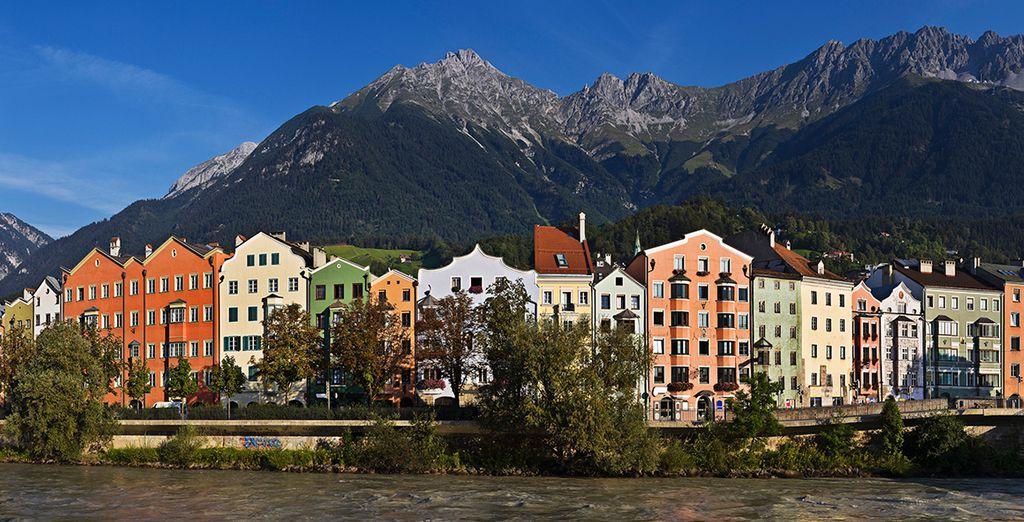 Bienvenido a Innsbruck, la capital del Tirol austríaco