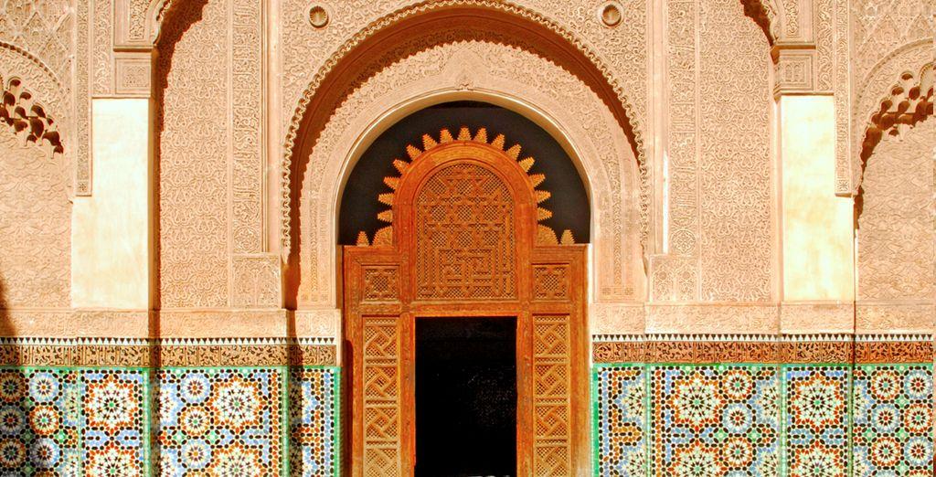 Visita y contempla la arquitectura marroquí