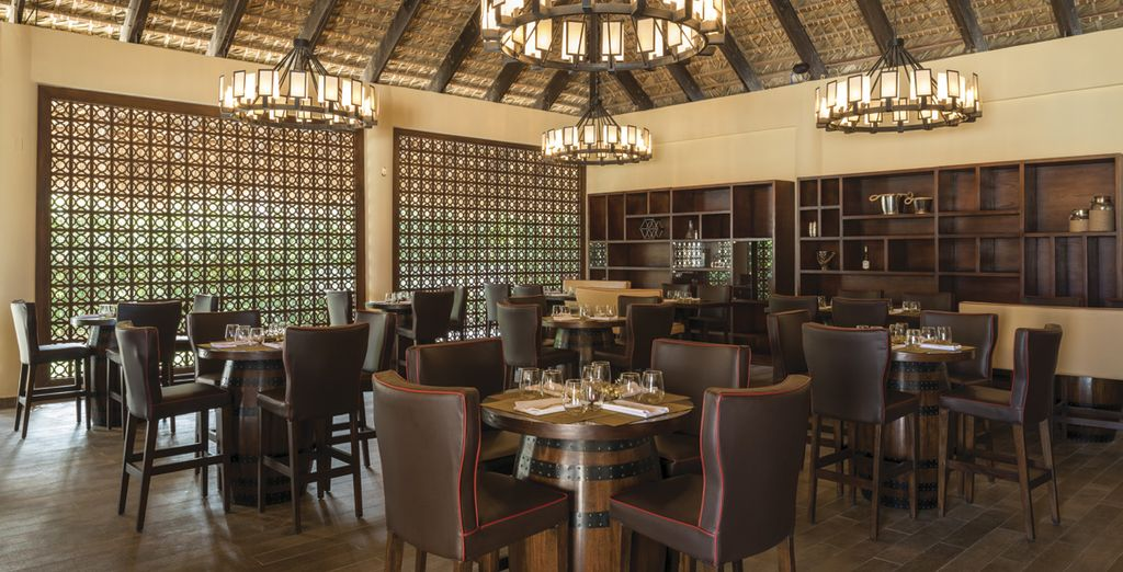 Con acceso ilimitado a 10 restaurantes de especialidades