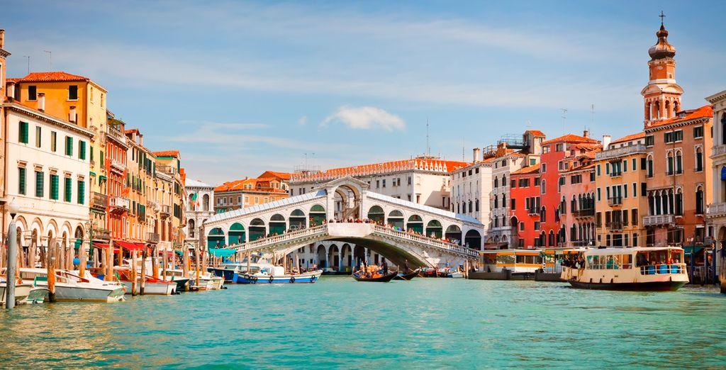 Venecia es un destino espectacular