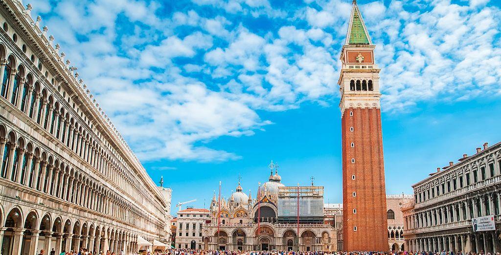 Tu hotel, a un paso de la Piazza San Marco