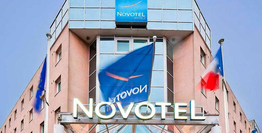 Novotel Centre Bord de Loire 4*, tu alojamiento en Nantes