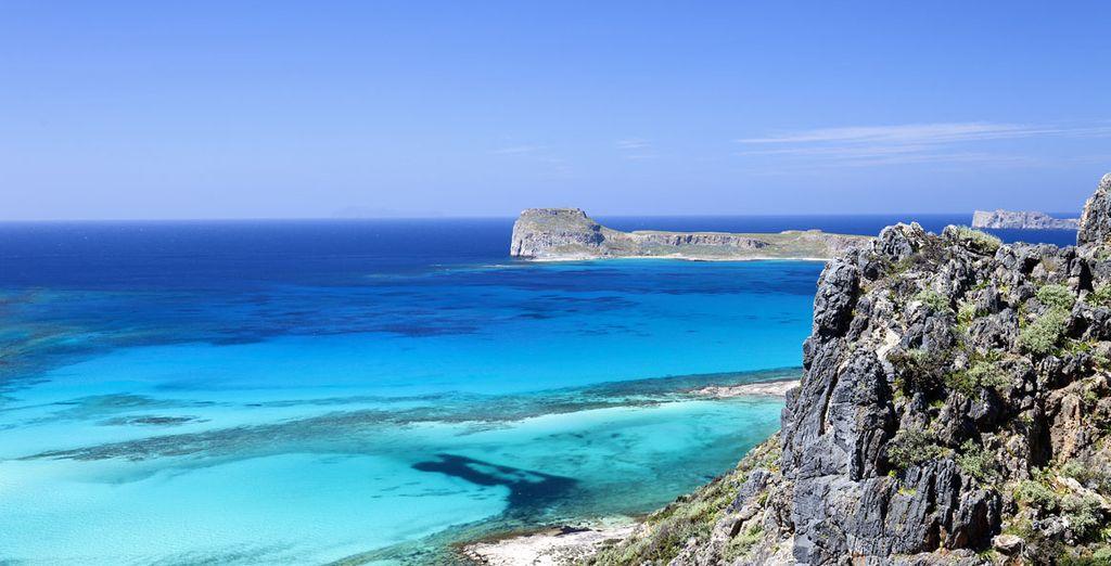 La isla ofrece zonas de calma y tranquilidad para tu descanso