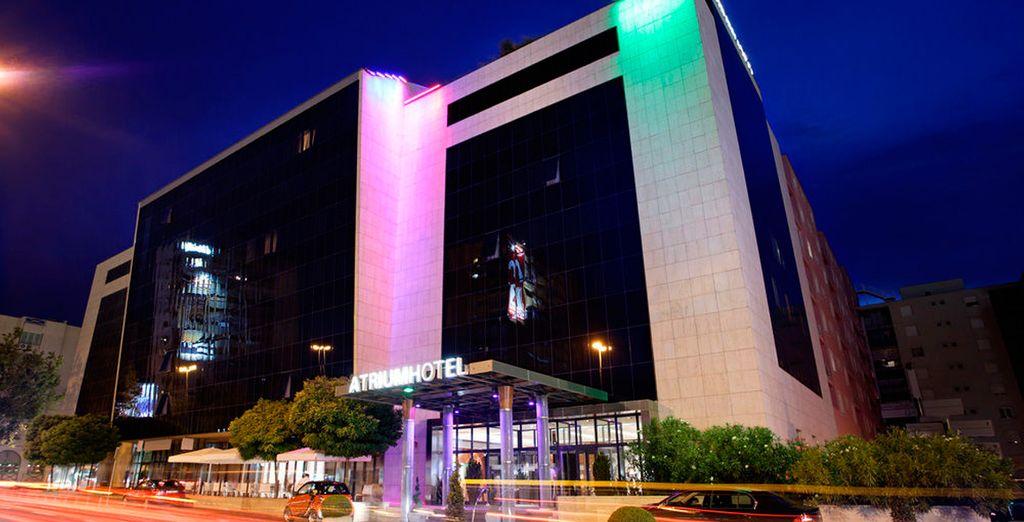 Descansa en el Hotel Atrium 5* durante tu estancia en Split