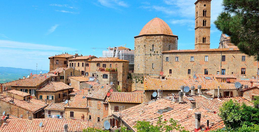 O la preciosa y medieval Volterra