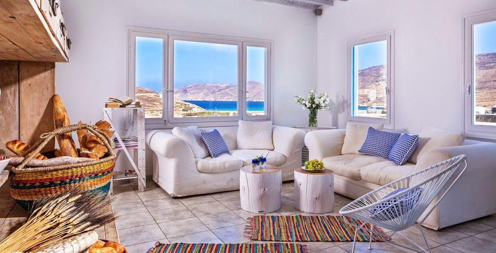 Interiores que reflejan tranquilidad