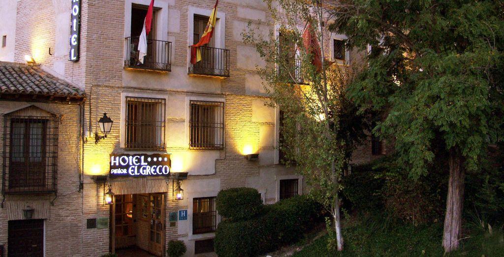 Pintor el Greco 4* le da la bienvenida