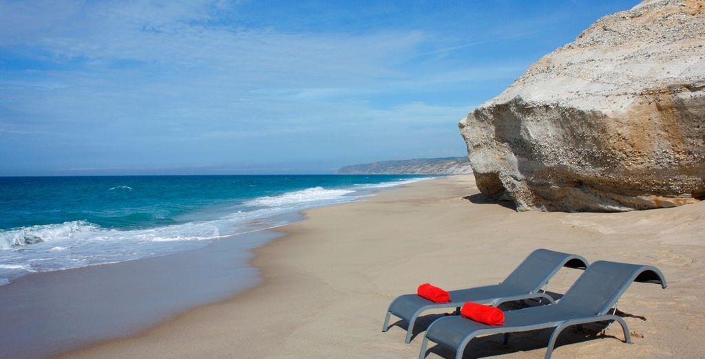 Muy cerca con tu coche, las playas del Atlántico