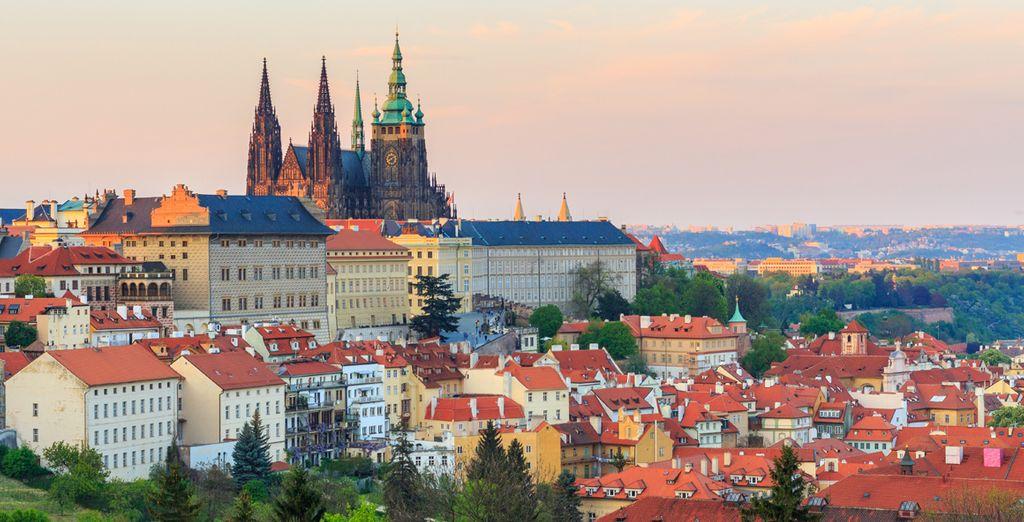 Visita el Hradcany, el famoso castillo de Praga