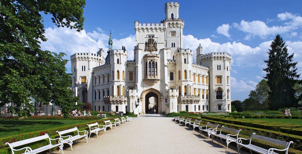 Visitarás el Castillo de Hluboka