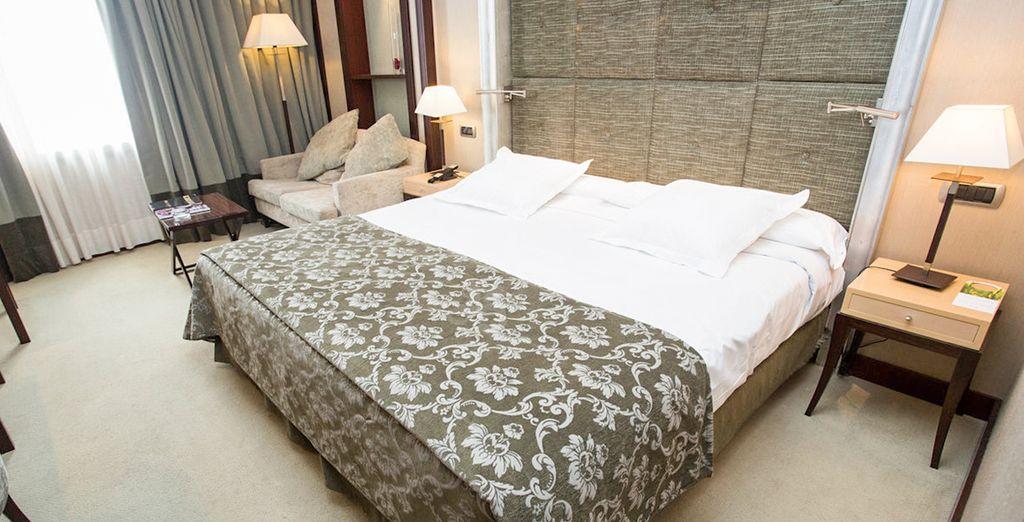 Con una cama de la que no querrás levantarte...