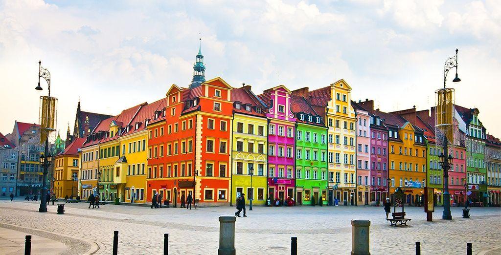 Impresionante y colorista ciudad que no puedes perderte, Wroclaw