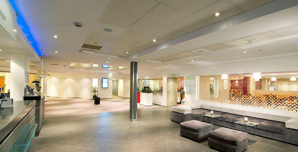Finalmente, te alojarás en Hotel Quality 3*, en el aeropuerto de Gardemoen, Oslo