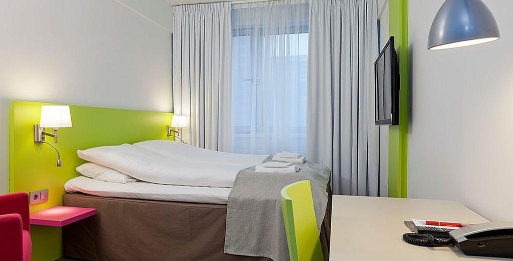 Un hotel contemporáneo y cómodo