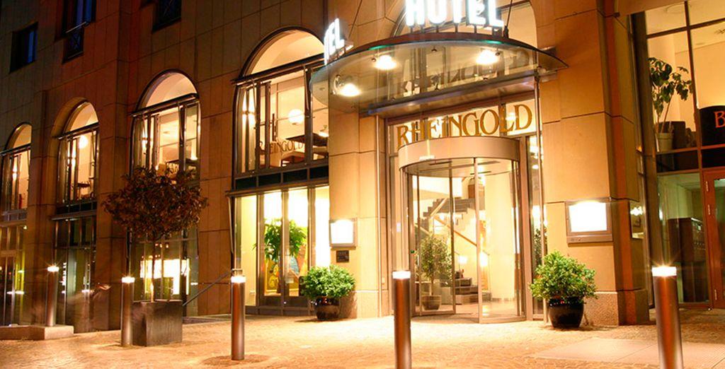 En Friburgo te alojarás en el Hotel Rheingold 4*