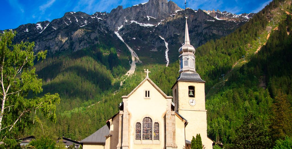 Explors el pintoresco pueblo alpino de Chamonix