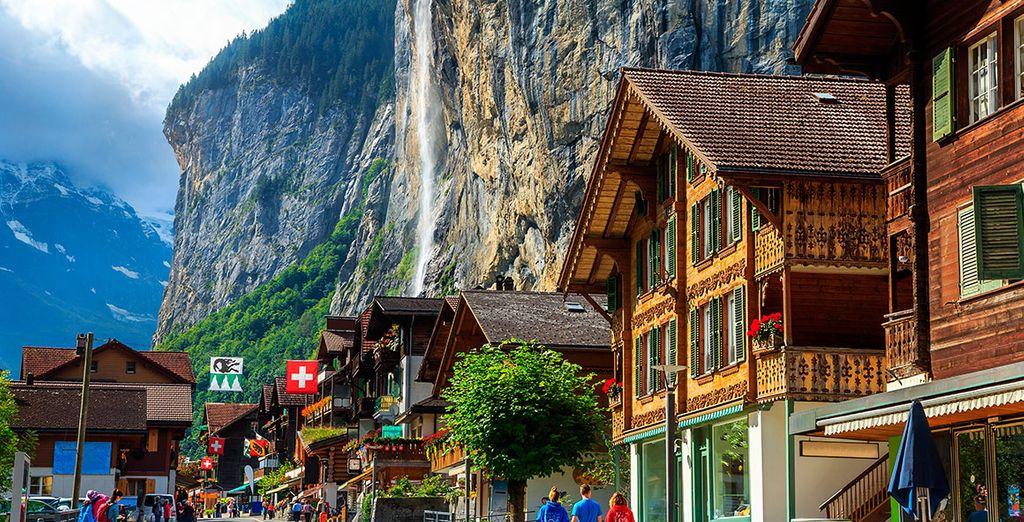 El valle de Lauterbrunnen, sencillamente genial