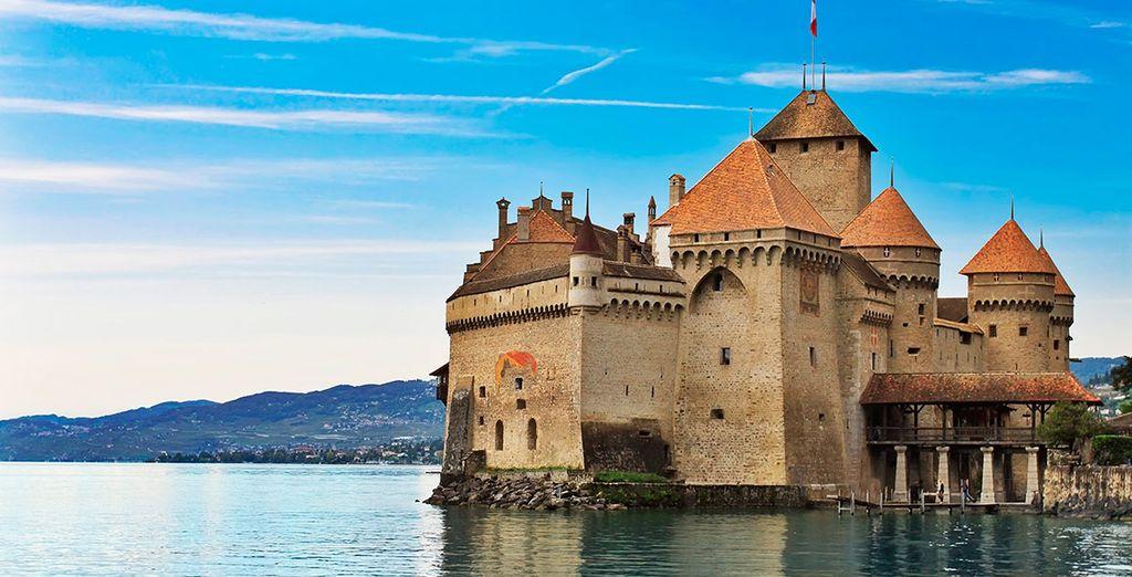 El castillo de Chillon, un lugar mágico