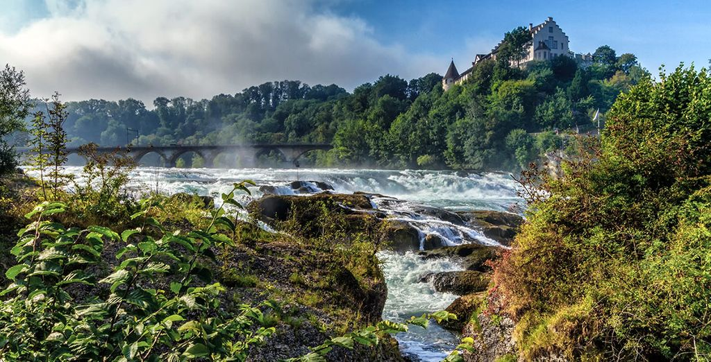 Las cataratas del Rin, un enclave de sublime belleza