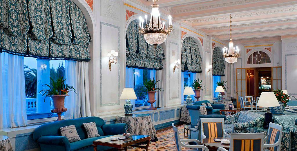 Salones con una decoración clásica