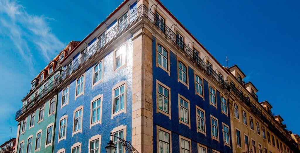 The 8 Downtown Suites 4* ocupa un edificio reformado del siglo XVIII