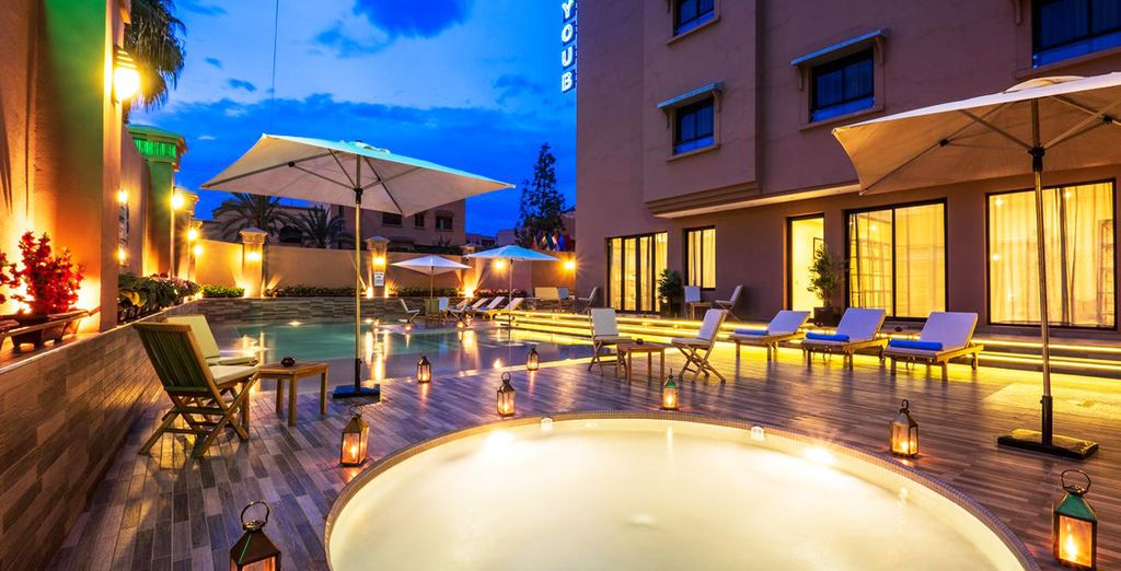 Tus días en Marrakech tendrán lugar en el Ayoub Hotel & Spa 4*