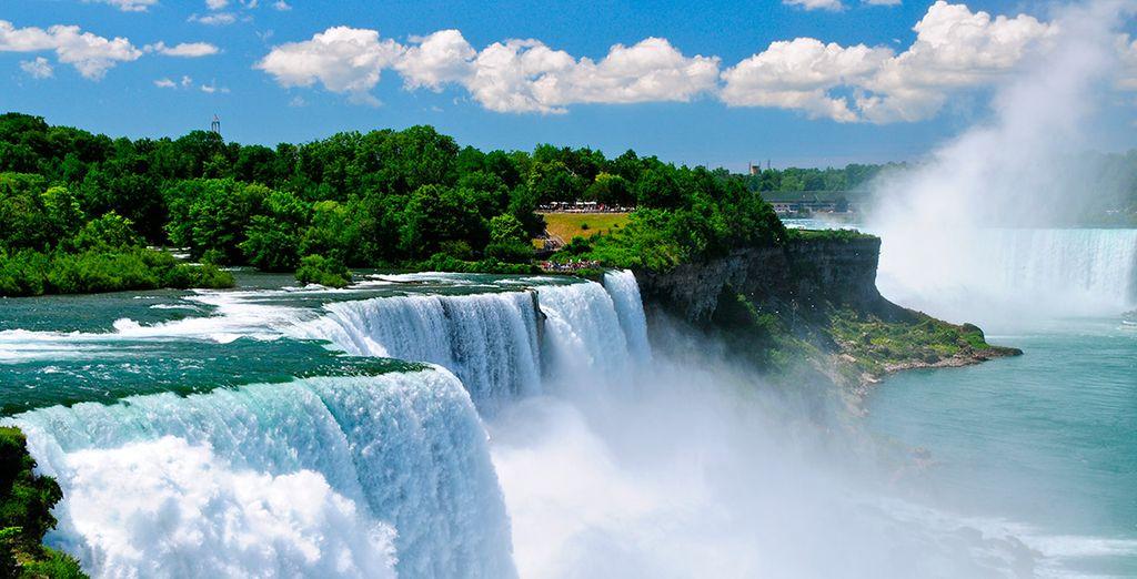 Las Cataratas del Niágara, un espectáculo de la naturaleza
