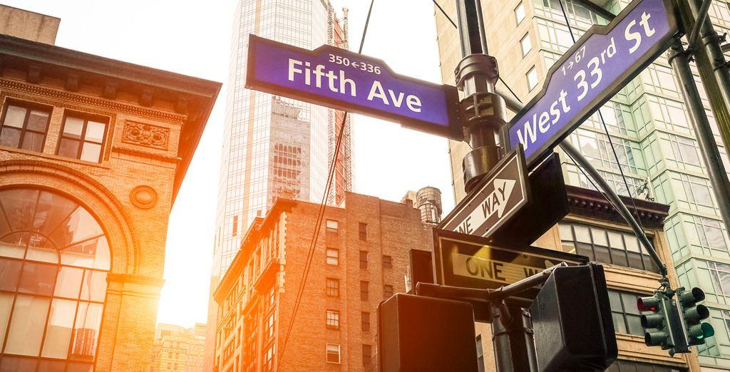 La famosa 5ª Avenida