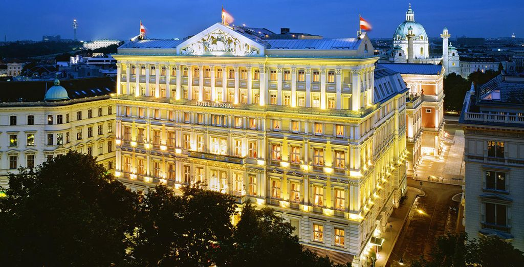 Hotel Imperial 5* - A Luxury Collection te espera en en bulevar Ringstrasse
