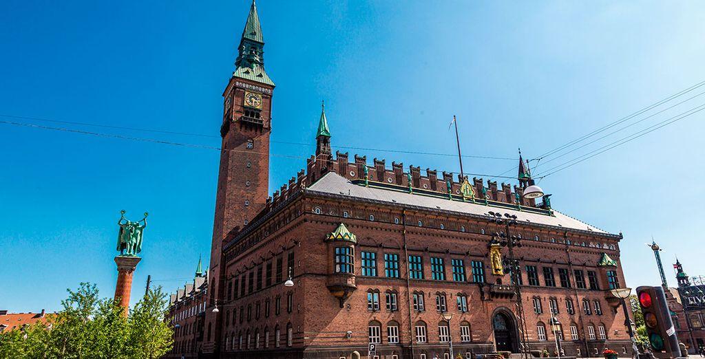 El ayuntamiento de Copenhague
